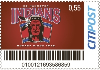 Citipost Briefmarke Indians 55ct